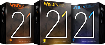 WINDEV, WEBDEV et WINDEV Mobile 21 disponibles (PV) !